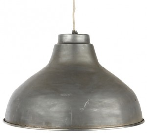 Industrilampa zink