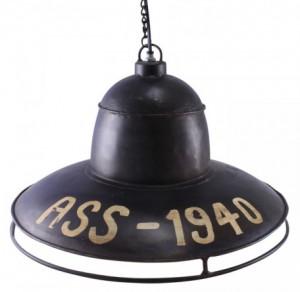 Industrilampa vintage
